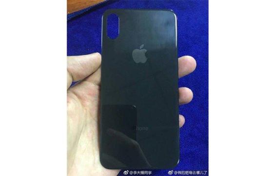 iPhone 8 Rückseite-Leak aus Weibo via appleinsider