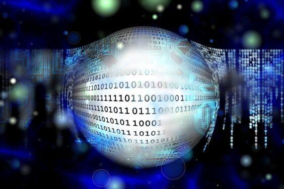 Sicherheit - Binäre Zahlen - Symbolbild