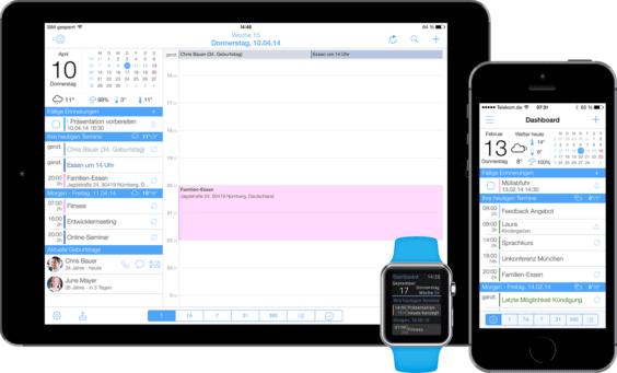 miCal für iOS