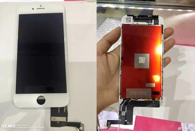 iPhone 7s Display Leak SC