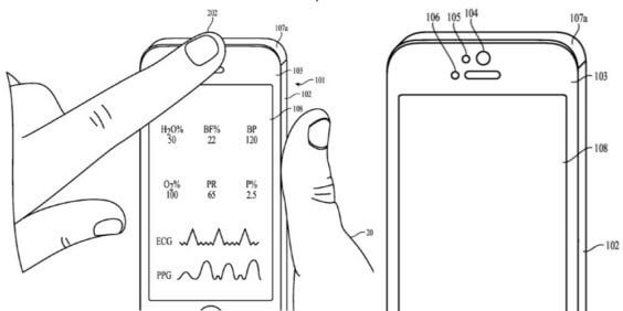 iPhone Front Kamera Patent
