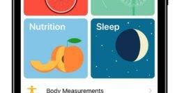 Mockup der Health-App auf dem iPhone 8