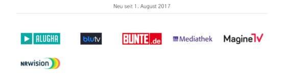 Telekom StreamOn Video ab 08.17 - Deutsche Telekom