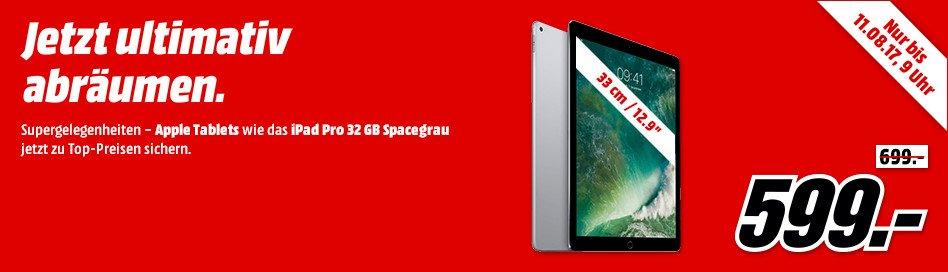 Media Markt Apple iPad Pro lagerräumung Banner