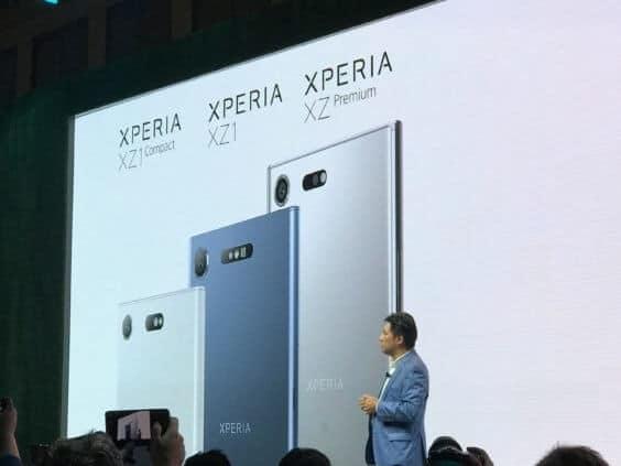 Sony Xperia XZ1 Lineup | Moritz Krauss