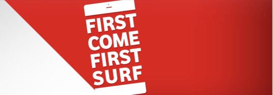 Vodafone first come first surf