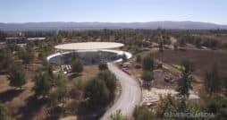 Blick auf das Gelände des Apple Park, Bild: Matthew Roberts