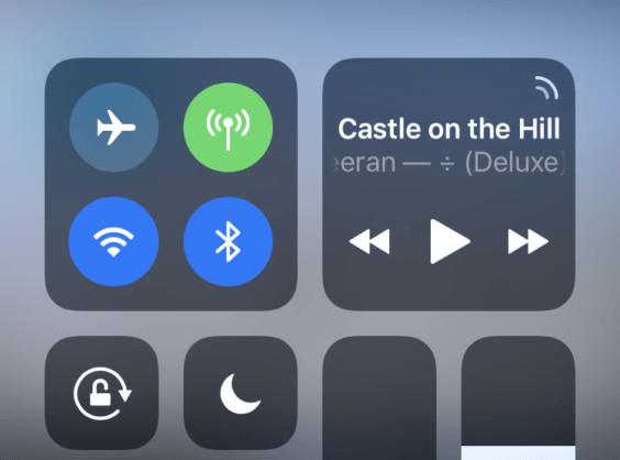 iOS 11 Musiksteuerung überarbeitet