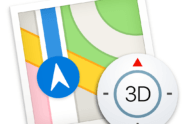 Maps-Icon von macOS High Sierra Beta 6