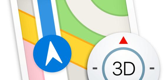 Maps-Icon von macOS High Sierra Beta 6