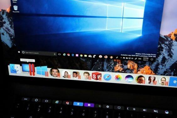 Parallels Desktop 13 Touch Bar Support