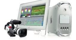 Power Mac G4 mit Zubehör, Bild: Apple
