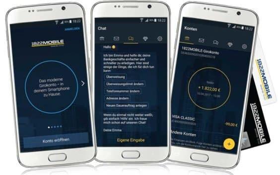 1822direkt Mobile App SC