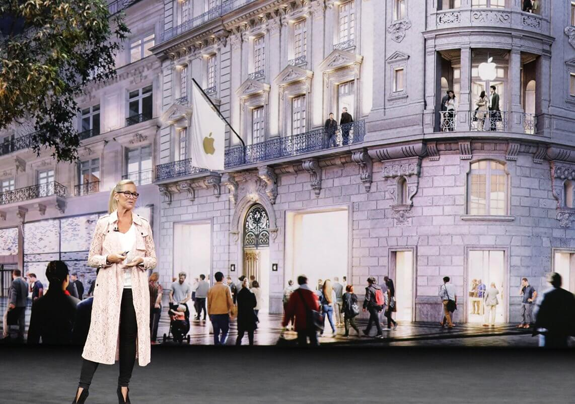 Angela Ahrendts today at apple Keynote September 2017