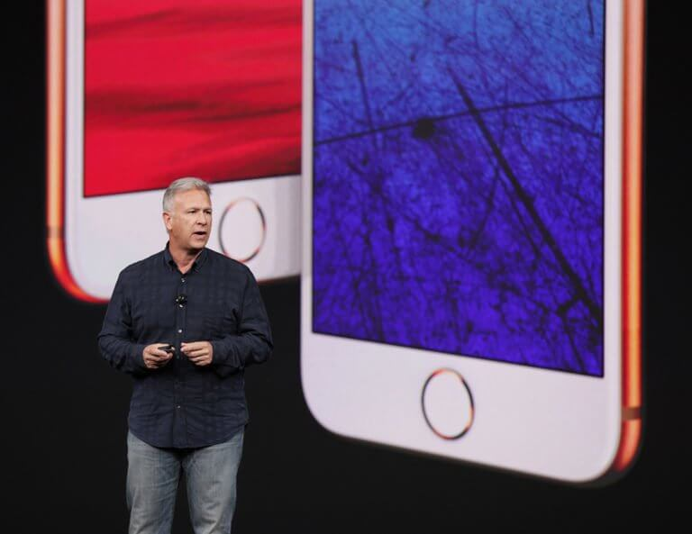 Phil Schiller bei iPhone 8 Präsentation