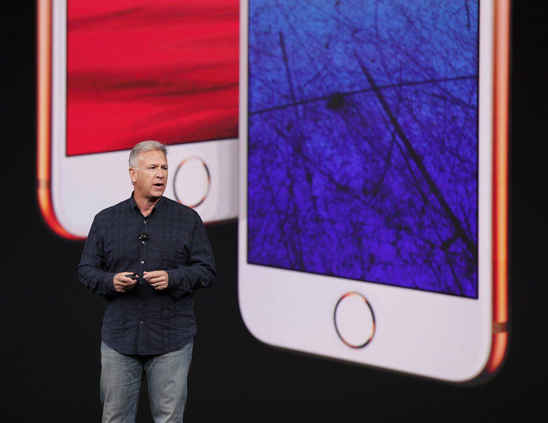 Phil Schiller bei iPhone 8 Präsentation