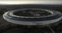 Apple Campus bei Sonnenuntergang | Matthew Roberts