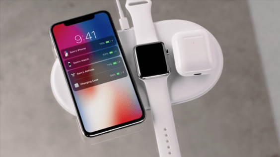 iPhone Apple Watch AirPods kabelloses Laden