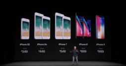 iPhone Lineup 09.2017