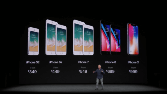 iPhone Lineup 09.2017