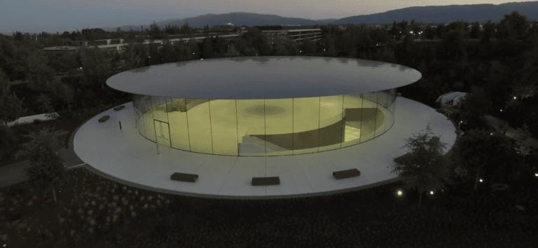 Steve Jobs Theater bei Sonnenuntergang | Matthew Roberts