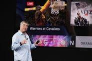 Eddy Cue bei Apple TV 4k Präsentation