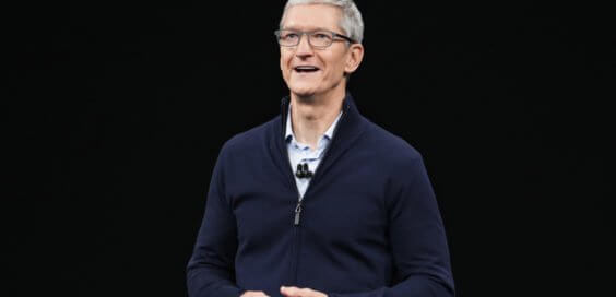 Tim Cook auf September Keynote 2017