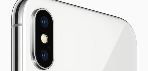 iPhone X hinten