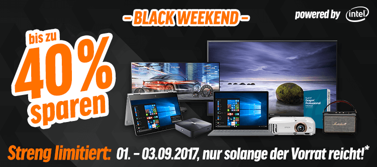 notebooksbilliger black weekend 2017 - aktionsbanner