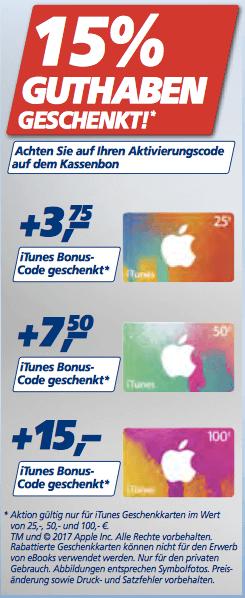 real iTunes Karten Angebot