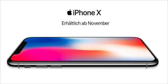 Apple iPhone X Coming Soon Banner