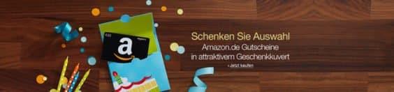 Amazon Gutschein Aufladen Aktion