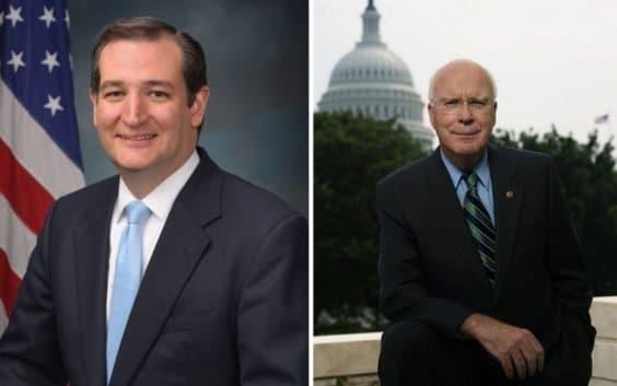 Senatoren Patrick Leahy und Ted Cruz | MacRumors