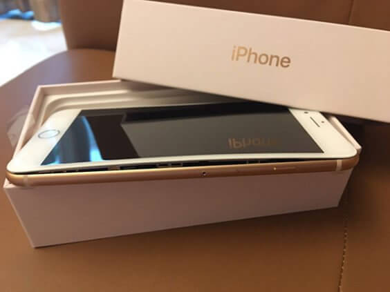 Aufgeplatztes iPhone 8 | thepaper.cn