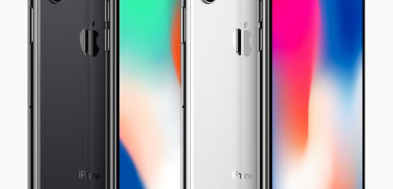 LineUp Des IPhone X Bild Apple
