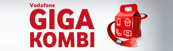Vodafone Giga Kombi Banner