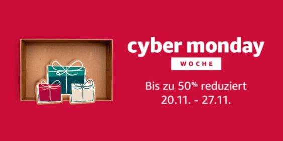 Amazon Cyber Monday Woche 2017