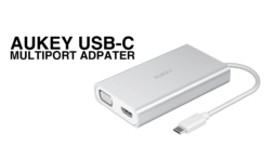 Aukey USB-C Multiport Adapter Thumbnail