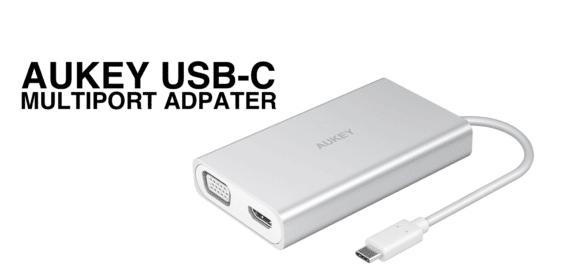 Aukey USB-C Multiport Adapter Thumbnail