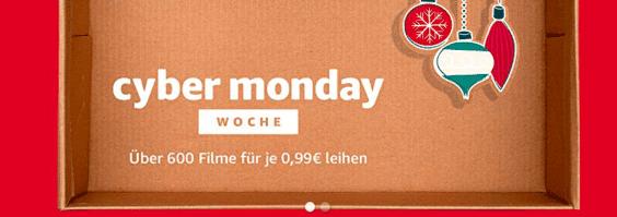 Amazon Cyber Monday Woche Amazon Video 2017