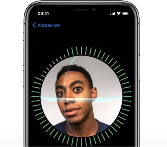 FaceID Konfiguration