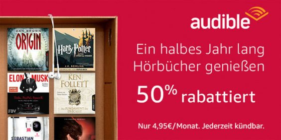 Audible Cyber Monday Woche Angebot