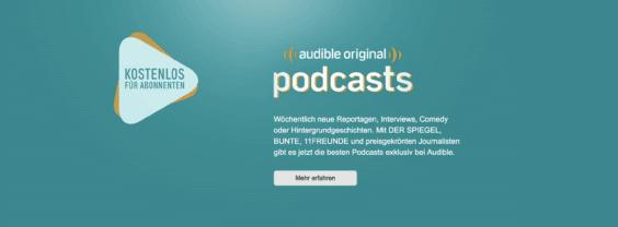 Audible Original Podcasts | Screenshot WakeUp Media