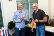 Tim Cook und Bruce Sewell 1 Infinite Loop