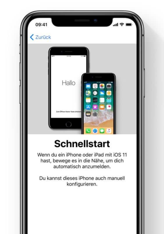 iOS 11-Schnellstart