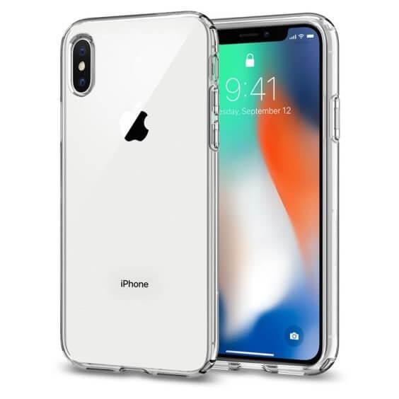 iPhone X Hülle - Spigen Liquid Crystal