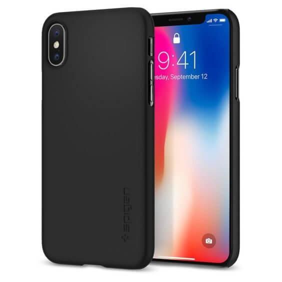 iPhone X Hülle - Spigen Thin Fit