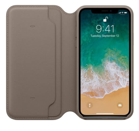 Apple Leder Folio Case - Apple