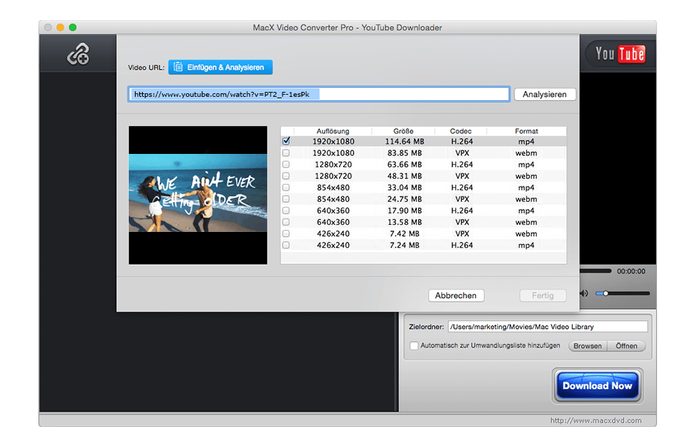 MacX Video Converter Pro: 4K Filme downloaden & konvertieren [Black ...