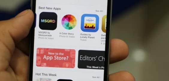 App Store unter iOS, Bild: CC0